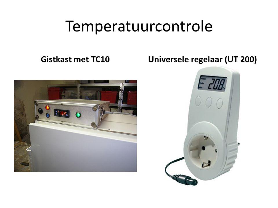 Temperatuurcontrole Gistkast met TC10Universele regelaar (UT 200)