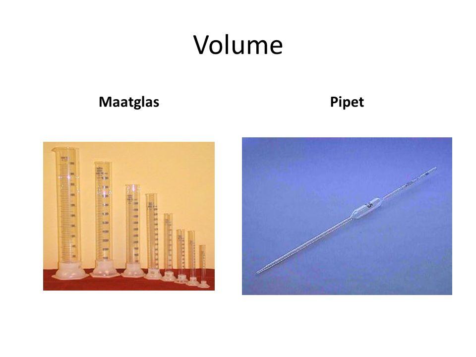 Volume MaatglasPipet