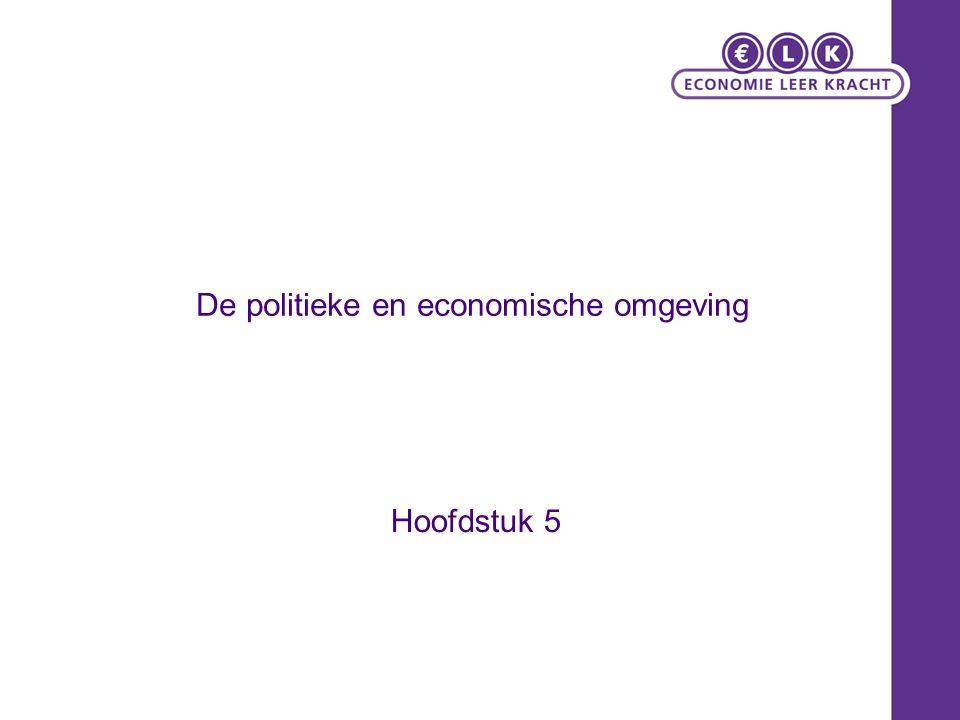 De politieke en economische omgeving Hoofdstuk 5