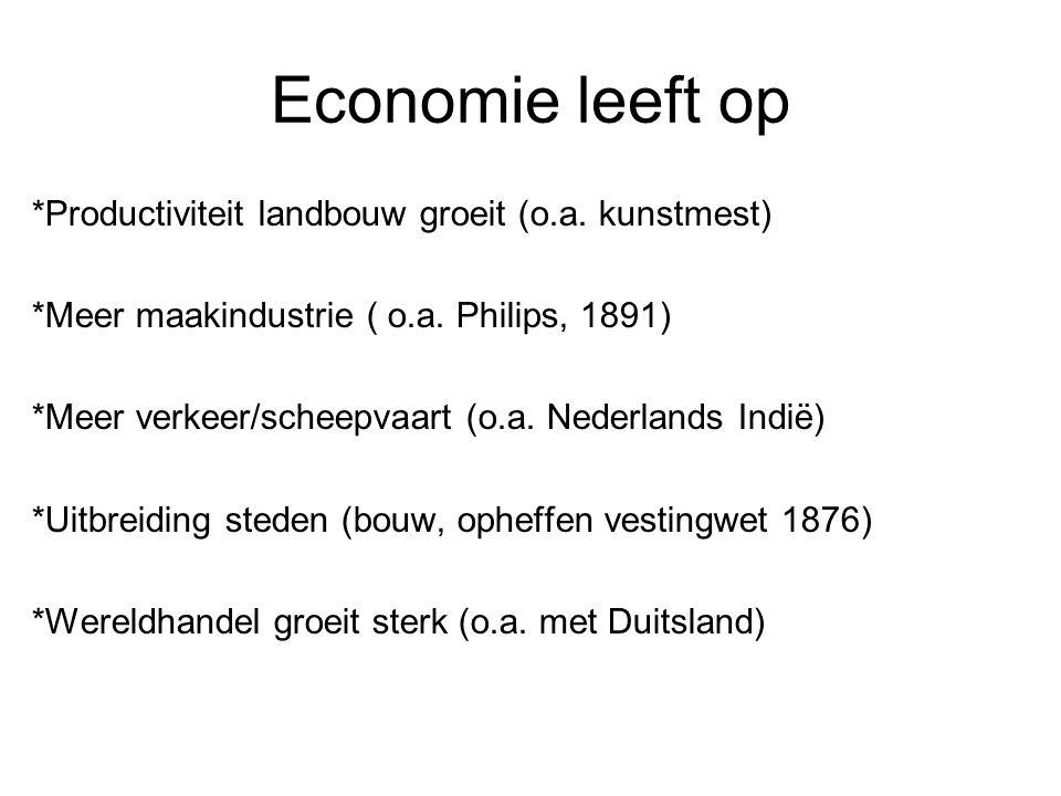 Economie leeft op *Productiviteit landbouw groeit (o.a.