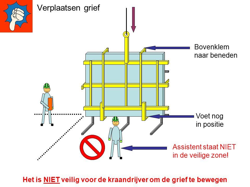 Ga NOOIT uit de veilige zone zonder toestemming van de Kraandrijver Veilige Zone veilige zones zijn veilig voor iedereen.