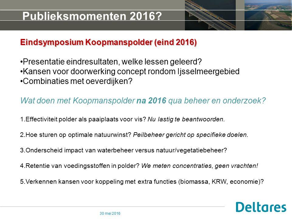 30 mei 2016 Publieksmomenten 2016.