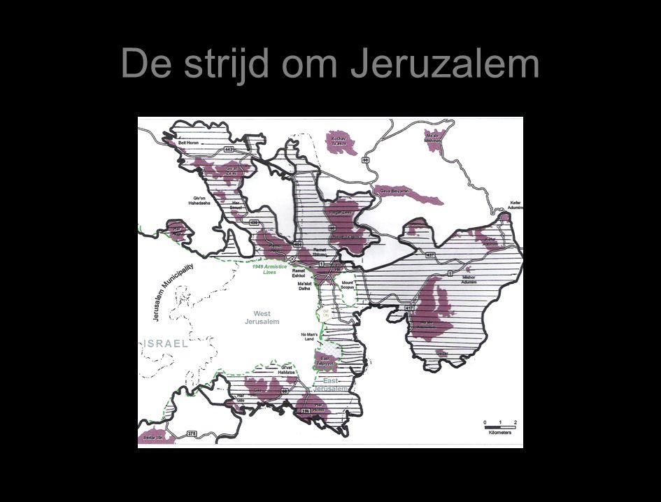 De strijd om Jeruzalem