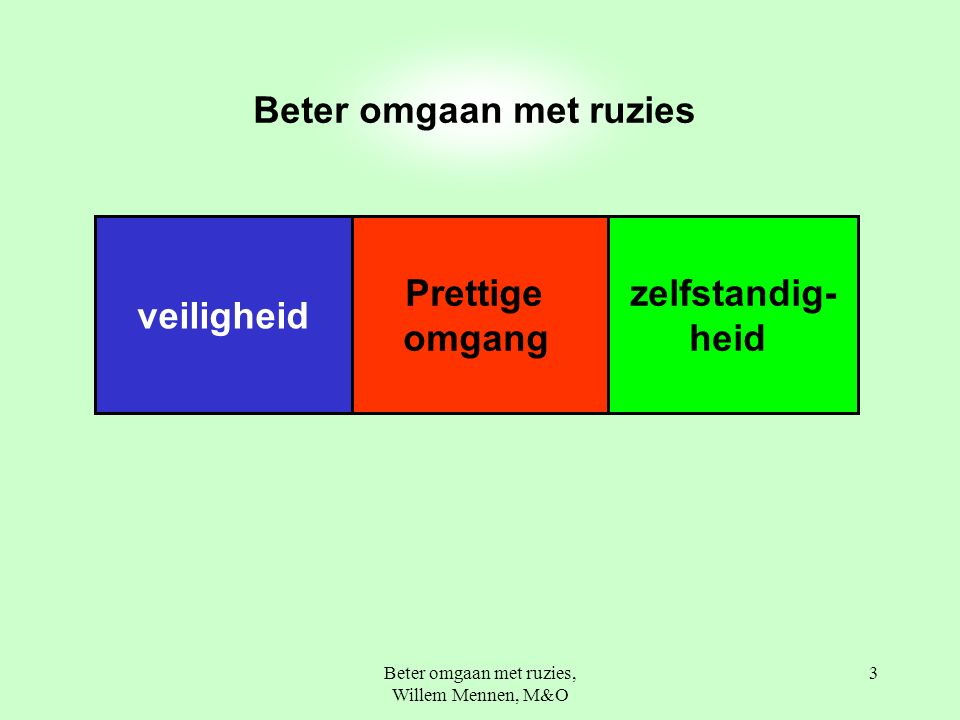 Beter omgaan met ruzies, Willem Mennen, M&O 44 de time-out plek een nadenkplek