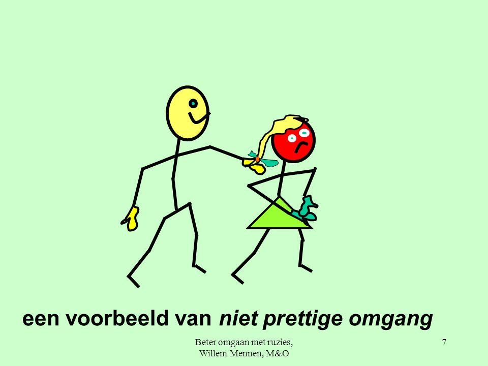 Beter omgaan met ruzies, Willem Mennen, M&O 7 een voorbeeld van niet prettige omgang