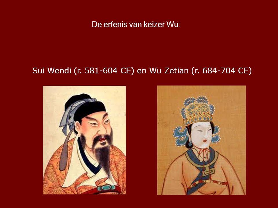 De erfenis van keizer Wu: Sui Wendi (r. 581-604 CE) en Wu Zetian (r. 684-704 CE)