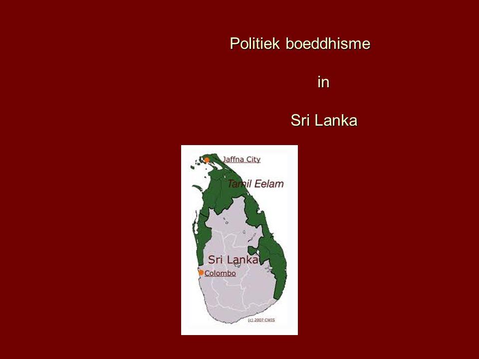 Politiek boeddhisme in Sri Lanka