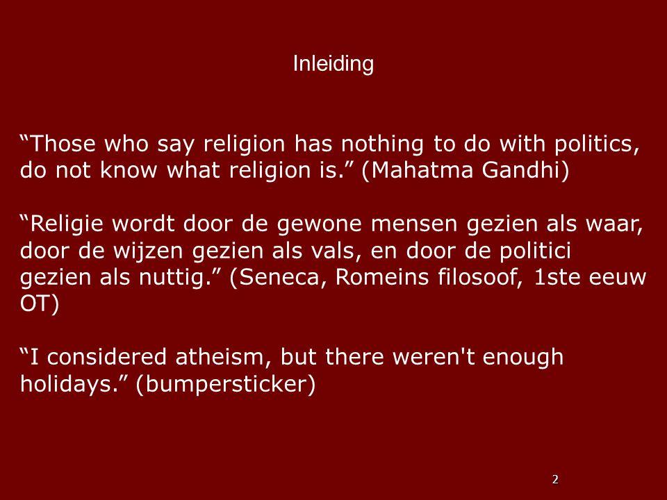 Inleiding Vele religies, waaronder het boeddhisme, hebben als uitgangspunt de onverenigbaarheid van wereldse en niet-wereldse doelen.