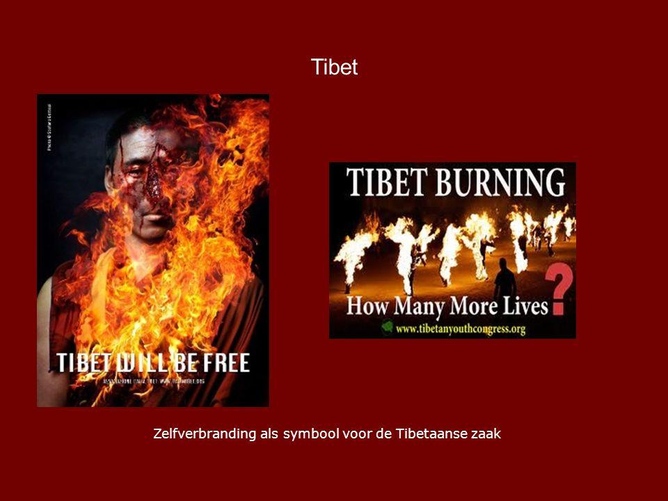 Tibet Zelfverbranding als symbool voor de Tibetaanse zaak
