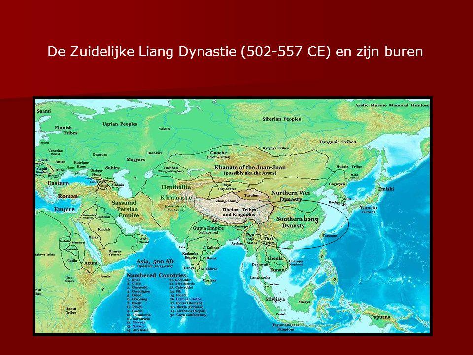 De Zuidelijke Liang Dynastie (502-557 CE) en zijn buren