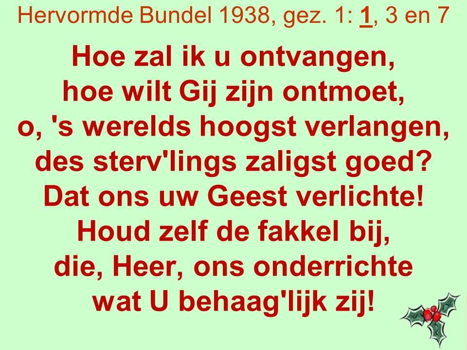 Hervormde Bundel 1938, gez.
