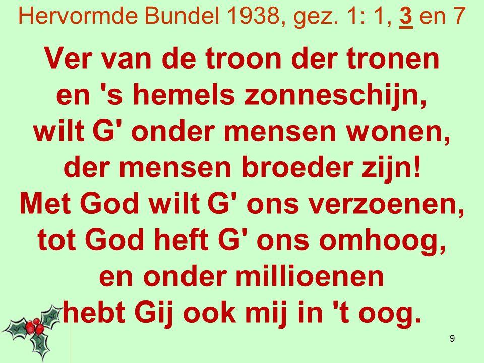 'Onze Hemelkoning' - Frits Deubel (2) En hierboven roept God op tot een grotere bezinning.