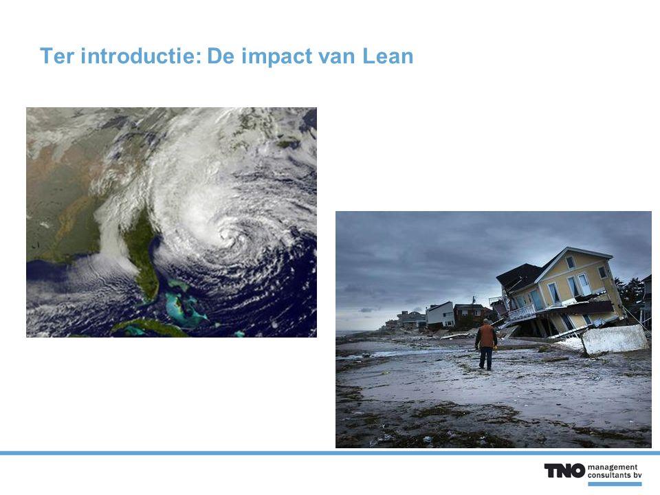 Ter introductie: De impact van Lean