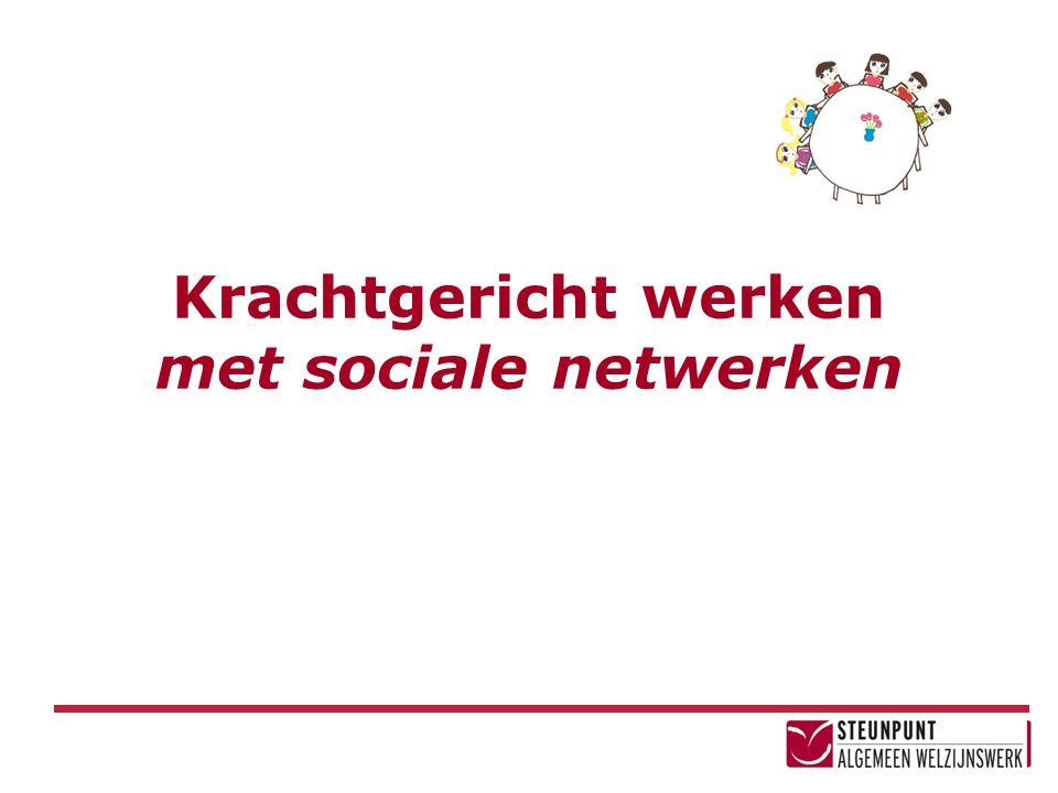 Krachtgericht werken met sociale netwerken