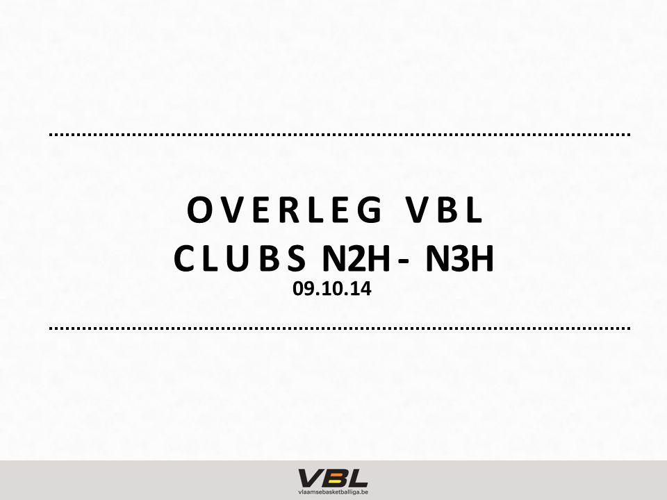 O V E R L E G V B L C L U B S N2H - N3H 09.10.14