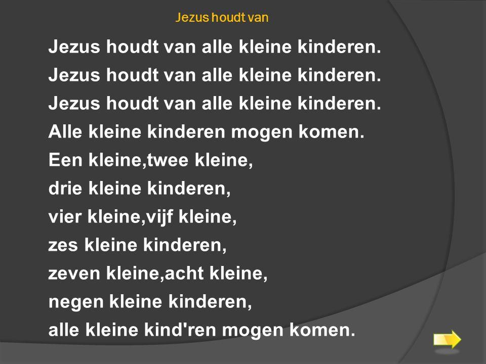 GEZANG 335: 1,2, 3,4 EN 5 Heer van uw kerk, Gij hebt het woord genomen En zegt ons: laat de kindren tot mij komen, Want hunner is het koninkrijk.