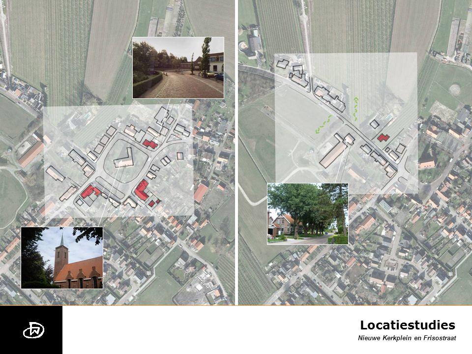 Nieuwe Kerkplein en Frisostraat Locatiestudies