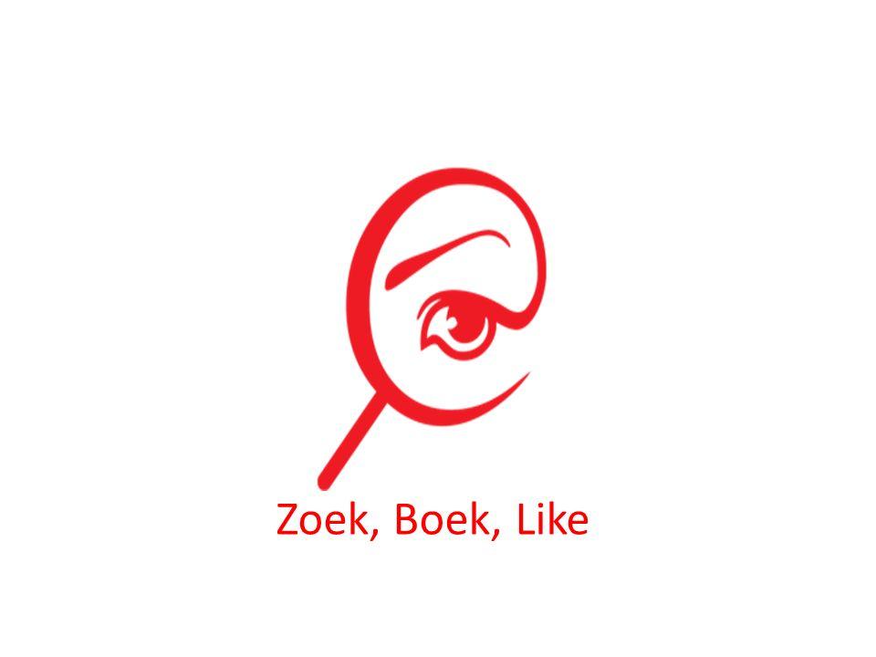 Zoek, Boek, Like