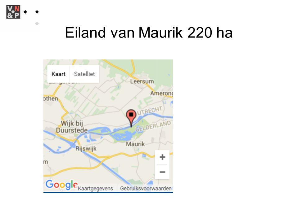 Eiland van Maurik 220 ha