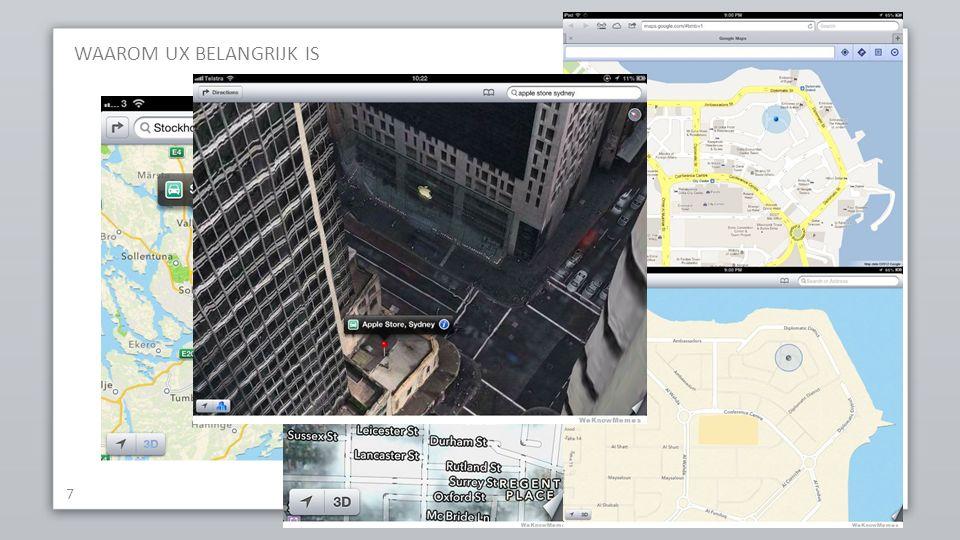 Apple iOS6 maps WAAROM UX BELANGRIJK IS 7