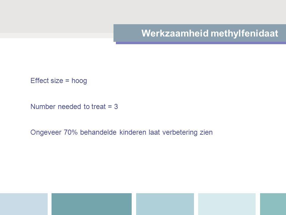 Methylfenidaat en verslaving Methylfenidaat vermindert de kans dat een jongere met ADHD een verslaving ontwikkeld MAAR Methylfenidaat aan hoge doseringen geeft een kick en kan dan wel verslavend zijn Methylfenidaat heeft straatwaarde: 1.5 euro/doosje  50 cent/pil