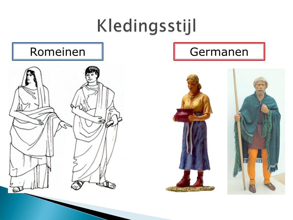 1.Wat was de bijdrage van de Romeinen en de Germanen aan die nieuwe samenleving.
