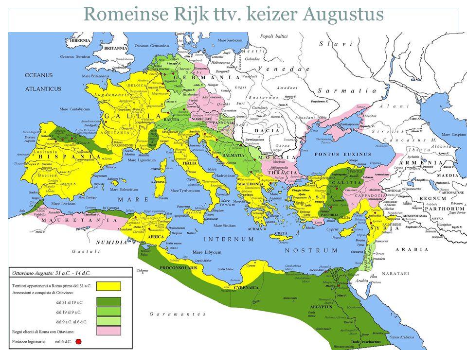 Romeinse Rijk ttv. keizer Augustus