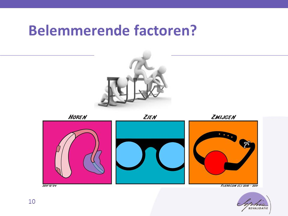 Belemmerende factoren? 10