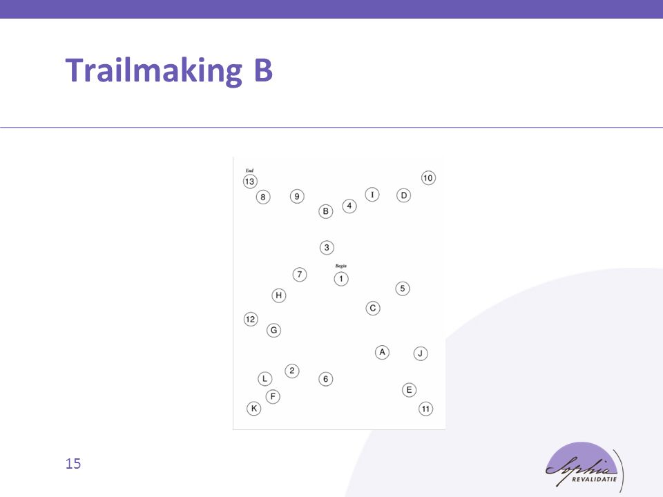 Trailmaking B 15