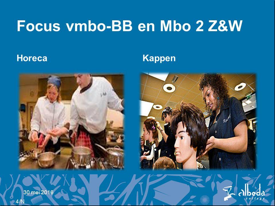 /N Focus vmbo-BB en Mbo 2 Z&W HorecaKappen 30 mei 2016 4