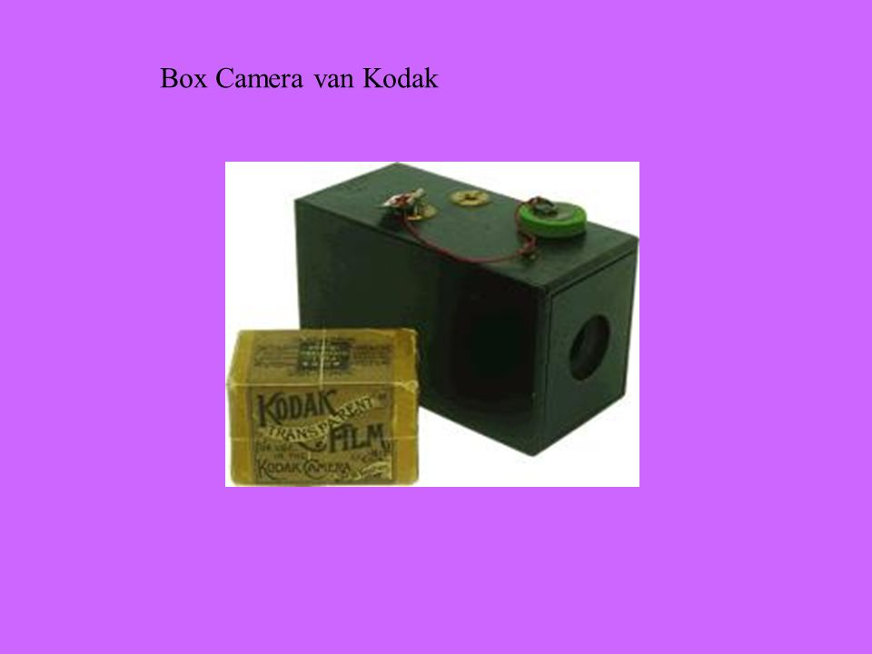 Box Camera van Kodak