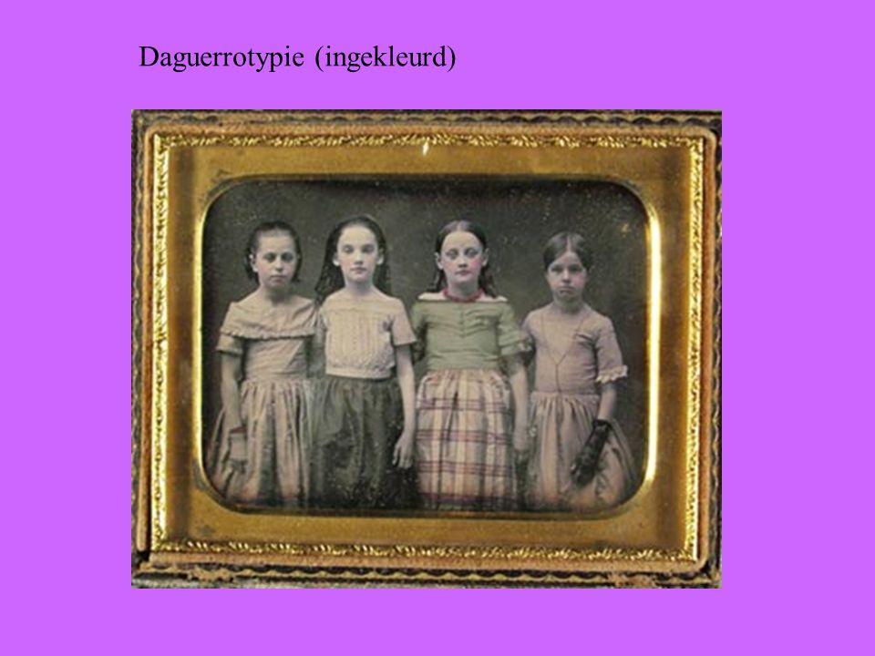 Daguerrotypie (ingekleurd)