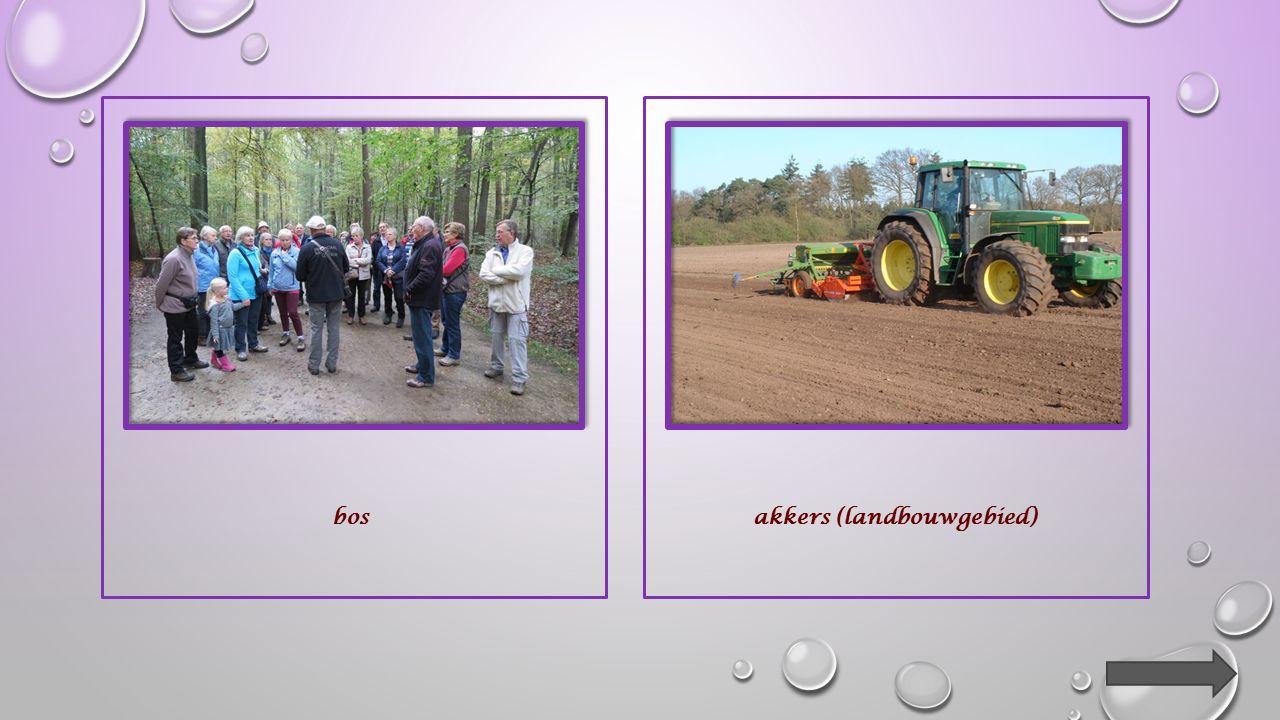 akkers (landbouwgebied)woongebied
