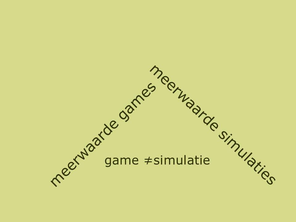 De meeste serious games missen de flow factor! Games ontwerpen is een vak Focus op content ipv spelgedrag