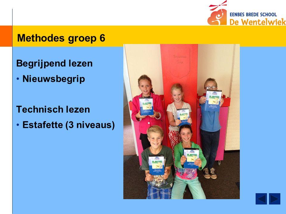 Methodes groep 6 Studievaardigheden, Blits Moet nog opgestart worden. 5