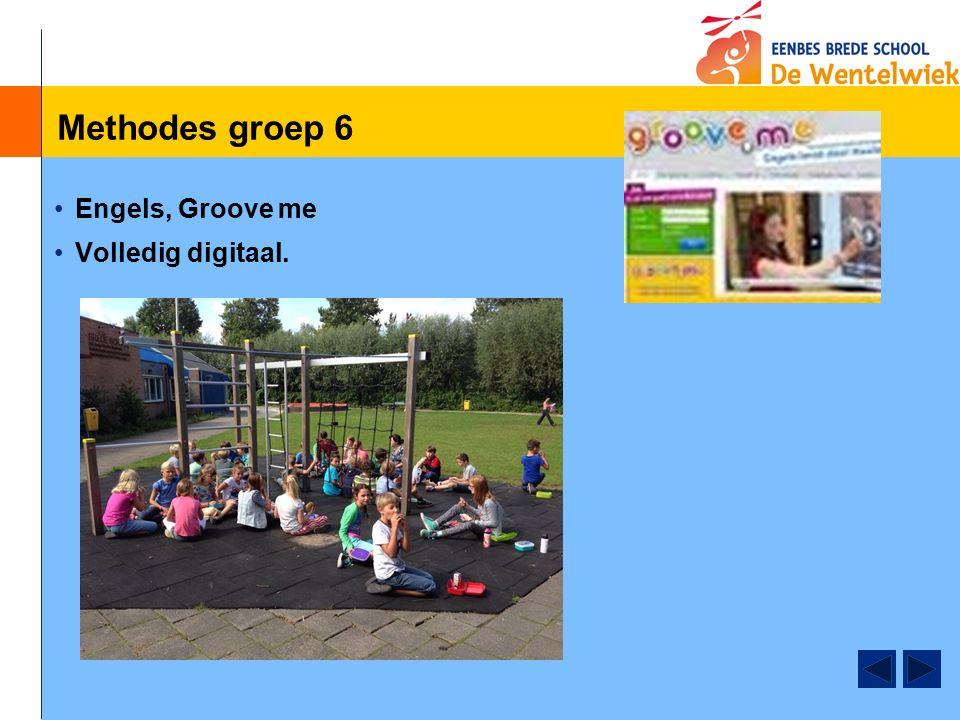 Methodes groep 6 Engels, Groove me Volledig digitaal.