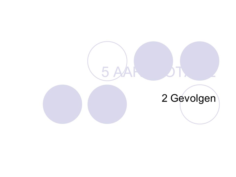 5 AARDROTATIE 2 Gevolgen