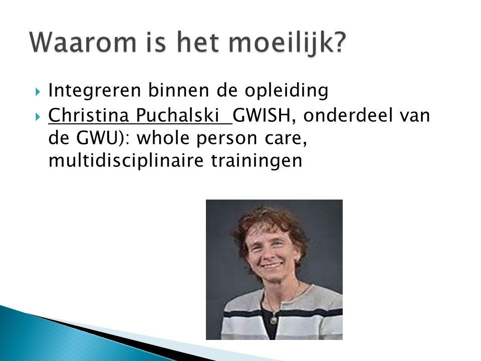  Margaret Mohrmann: HOE communiceer je die verschillende dimensies in je patiëntencontact.