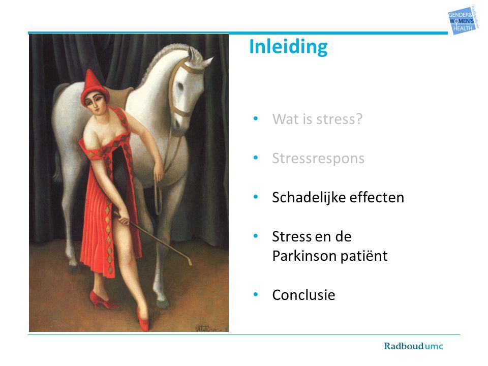 Wat is stress.