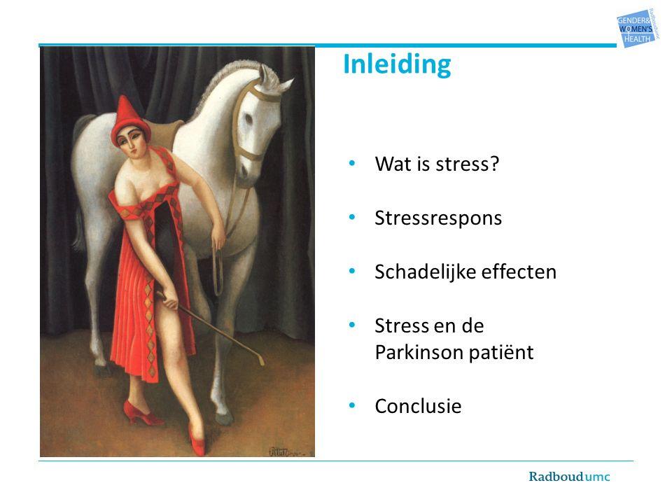 Snelle reactie: autonome zenuwstelsel noradrenalineadrenaline (bijniermerg) Langzame reactie: via hypothalamus stresshormoon cortisol (bijnierschors)