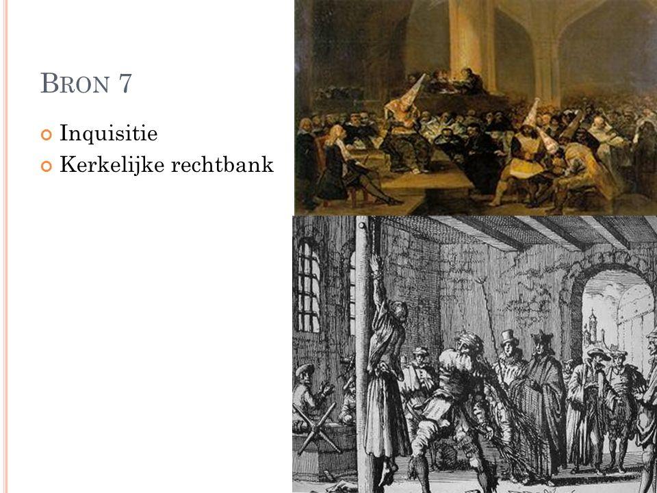 B RON 7 Inquisitie Kerkelijke rechtbank