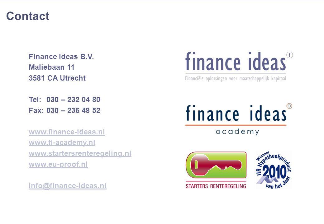 10 Contact 10 Finance Ideas B.V.