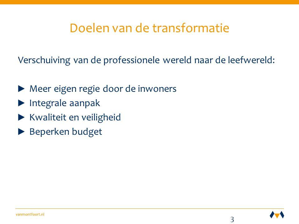 vanmontfoort.nl 3 D E WEGING Stel bij elke weging eerst de vraag: Welk besluit moeten we nemen.