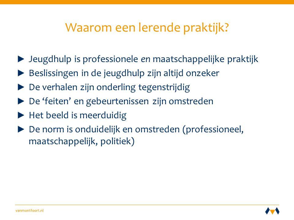vanmontfoort.nl Waarom een lerende praktijk.