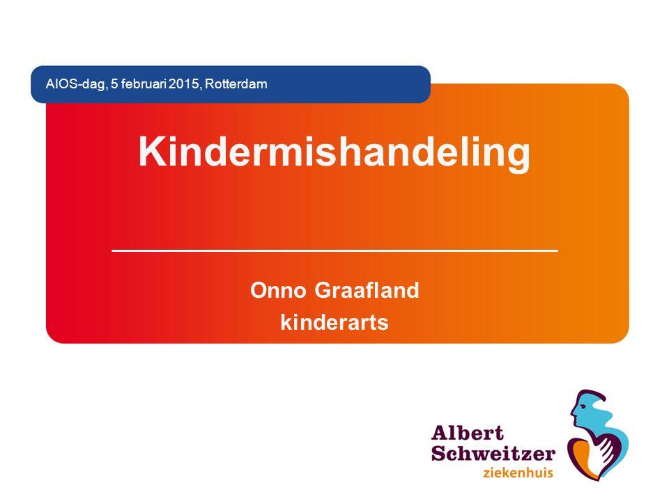 Kindermishandeling Onno Graafland kinderarts AIOS-dag, 5 februari 2015, Rotterdam