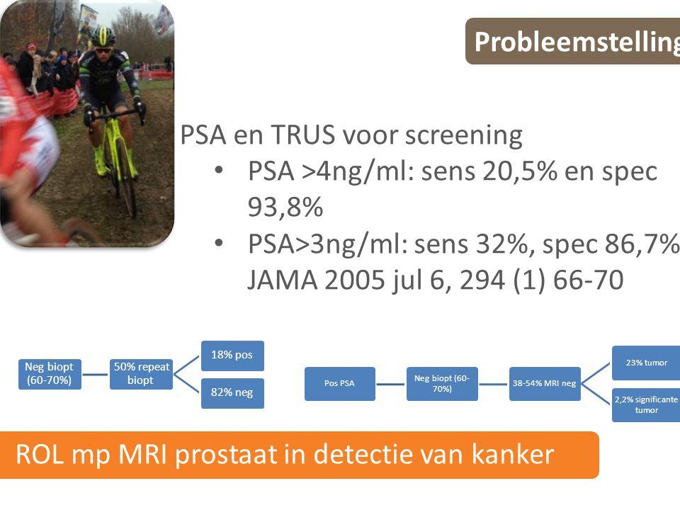 PI-RADS v2 Conclusie Dus van louter staging is MRI geëvolueerd naar tumordetectie, localisatie, karakterisatie, risico stratificatie, opvolging, biopsie geleiding.