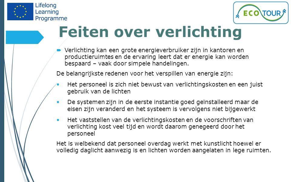 Maak gebruik van regelsystemen 23 Regelsystemen zijn een effectief instrument om het energieverbruik te verminderen maar ze hebben het grote nadeel van hoge investeringskosten en kunnen alleen maar uit in gebouwen met een hoog energieverbruik.