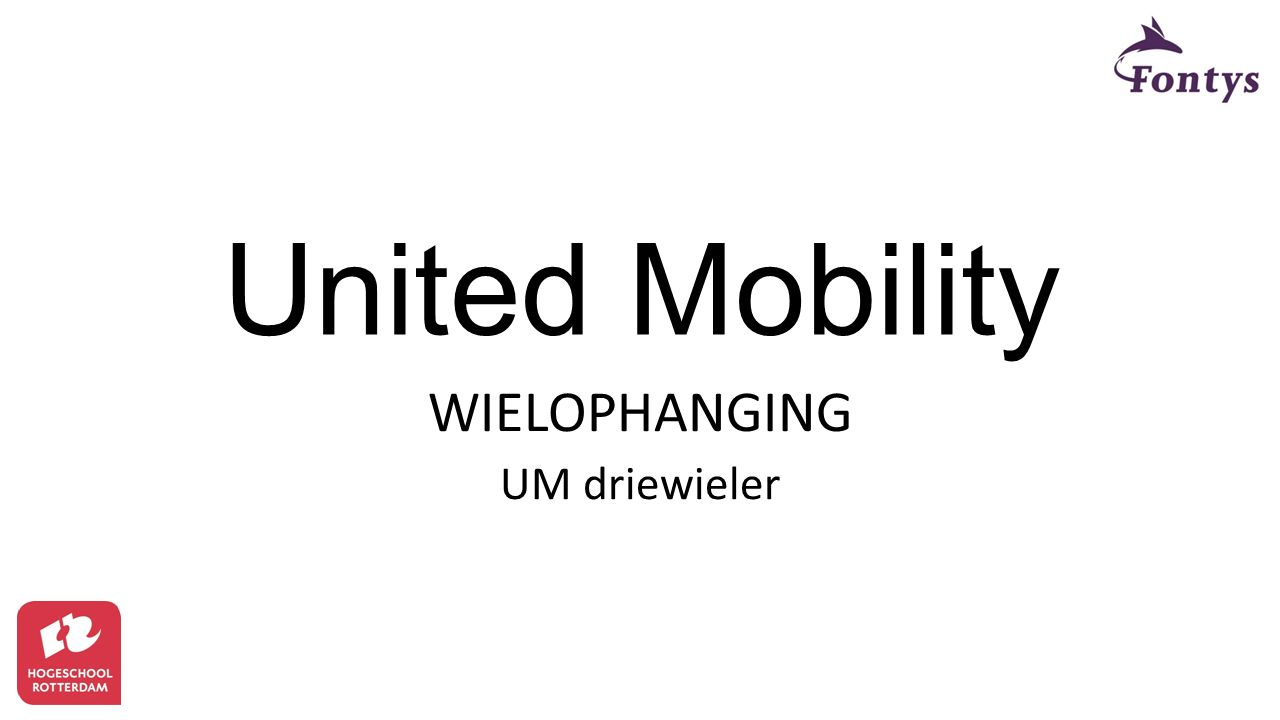 United Mobility WIELOPHANGING UM driewieler