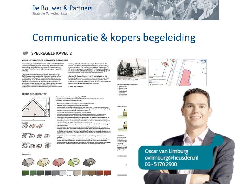 Communicatie & kopers begeleiding