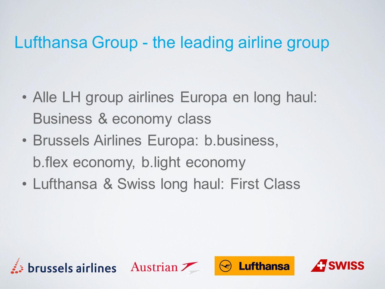 Lufthansa Group - the leading airline group Mijlen inruilen: vluchtawards bij Star Alliance airlines Vluchten, upgrades, one way awards, kindervluchten Vakanties, hotel stays, shopping, car rental Miles to help: wegschenken aan goede doelen
